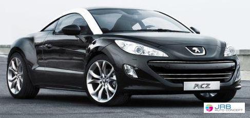 peugeot rcz 1 6 thp 155 bva rcz jrb auto concept voiture neuf occasion marseille. Black Bedroom Furniture Sets. Home Design Ideas